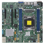 Supermicro X11SRM-F server/workstation motherboard LGA 2066 (Socket R4) Micro ATX Intel® C422