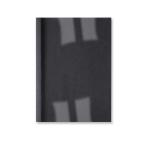 GBC LeatherGrain Thermal Binding Covers 3mm Black (100)