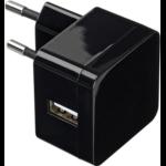 eSTUFF ES80123EU-BLACK Indoor Black mobile device charger