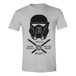 Star Wars Men's Rogue One Imperial Guard T-Shirt, Medium, Grey Melange (TS011ROG-M)