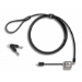 Lenovo 4X90H35558 cable antirrobo Negro, Acero inoxidable 1,83 m