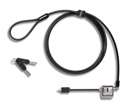 Lenovo 4X90H35558 cable lock Black, Stainless steel 1.83 m