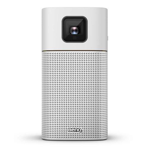Benq GV1 data projector Portable projector 200 ANSI lumens DLP WVGA (854x480) Silver, Yellow