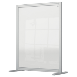 Nobo 1915492 magnetic board Gray, Transparent