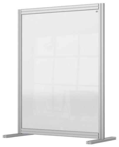 Nobo 1915492 magnetic board Gray, Transparent
