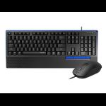 Rapoo NX2000 keyboard USB Black, Blue