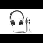 Logitech Zone Wired Teams Kopfhörer Kopfband USB Typ-C Schwarz
