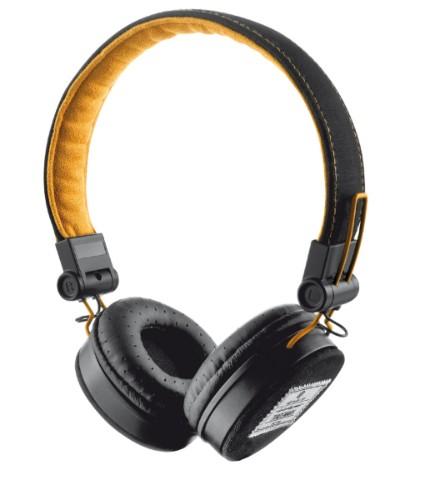 Trust URB FYBER BLACK/ORANGE Headphones