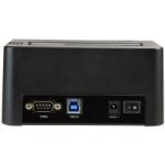 StarTech.com SDOCK1EU3P2 media duplicator HDD/SSD duplicator 1 copies Black