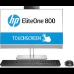 "HP EliteOne 800 G4 60.5 cm (23.8"") 1920 x 1080 pixels Touchscreen 8th gen Intel® Core™ i7 16 GB DDR4-SDRAM 1000 GB SSD Windows 10 Pro All-in-One PC Silver"