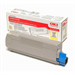 Oki 43324421 Toner yellow, 5K pages @ 5% coverage