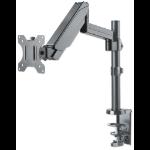 "Manhattan 461580 flat panel desk mount 81.3 cm (32"") Clamp Grey"