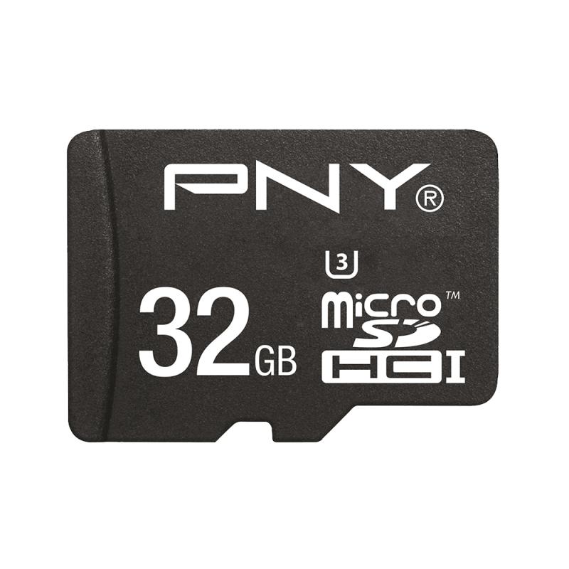 PNY MicroSDHC Turbo Performance 32GB 32GB MicroSDHC UHS-I Class 10 memory card