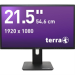 "Wortmann AG 3030021 21.5"" Full HD LED Flat Black computer monitor LED display"