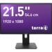 "Wortmann AG 3030021 21.5"" Full HD ADS Black computer monitor LED display"