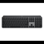 Logitech MX Keys keyboard RF Wireless + Bluetooth QWERTZ German Aluminium, Black