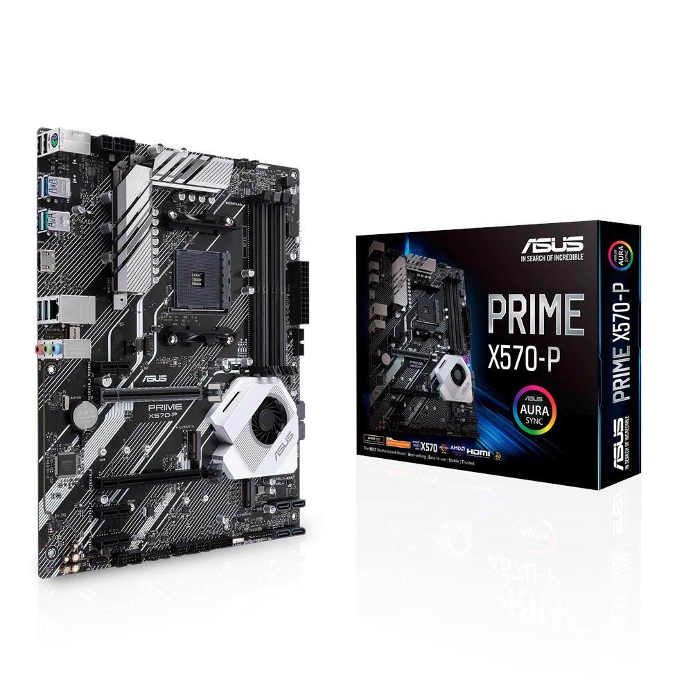 ASUS PRIME X570-P MOTHERBOARD SOCKET AM4 ATX AMD X570
