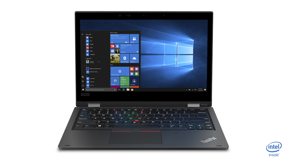 "Lenovo ThinkPad L390 Yoga Zwart Hybride (2-in-1) 33,8 cm (13.3"") 1920 x 1080 Pixels Touchscreen Intel® 8ste generatie Core™ i5 i5-8265U 8 GB DDR4-SDRAM 512 GB SSD"