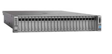 Cisco Ucs C240m4s With 1xe52620v4. 2x 16GB Mraid 2x 1200w 32g Sd Rails       In