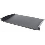 "Intellinet 19"" Cantilever Shelf, 1U, Shelf Depth 350mm, Non-Vented, Black 715102"