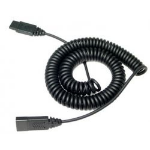 VXi QD 1000 telephony cable 3 m Black