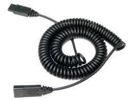 VXi QD 1000 3m Black telephony cable