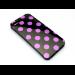 Sandberg Cover iPhone 5/5S dots BlackPurpl