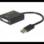 Hypertec 304902-HY USB graphics adapter 1920 x 1080 pixels Black