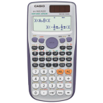 Casio FX-115ES Plus Pocket Scientific calculator Purple, Silver calculator