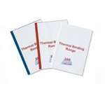 GBC Standard Thermal Binding Covers 4mm White (100)