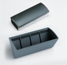 Legamaster 7-122500 eraser Plastic Anthracite, Grey 1 pc(s)