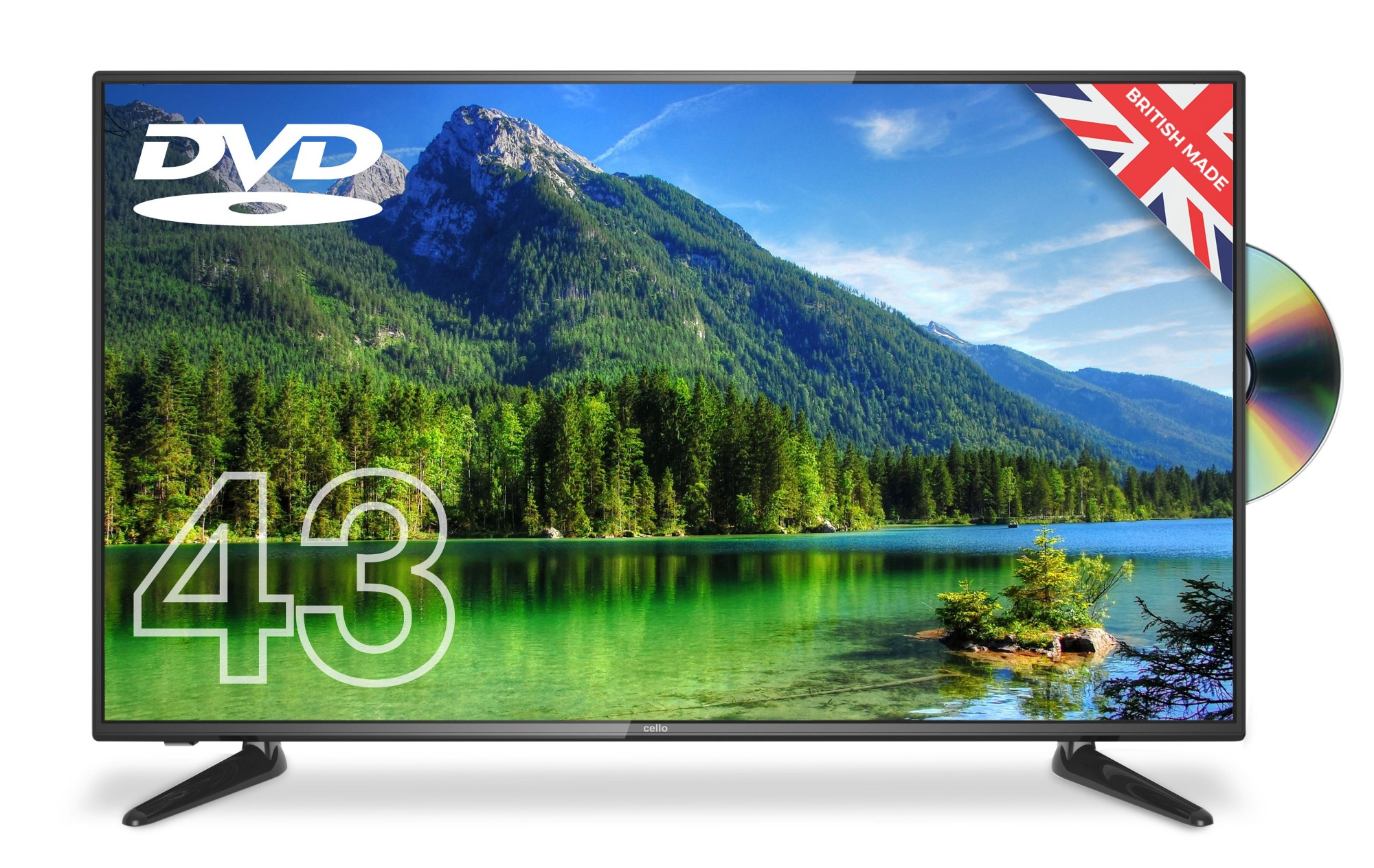 43IN LED 1920X1080 FULL HD 8MS 16:9 4000:1 3HDMI 1USB 1VGA      IN