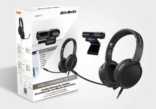 AVerMedia 317 - BO317 video conferencing system 2 MP Personal video conferencing system