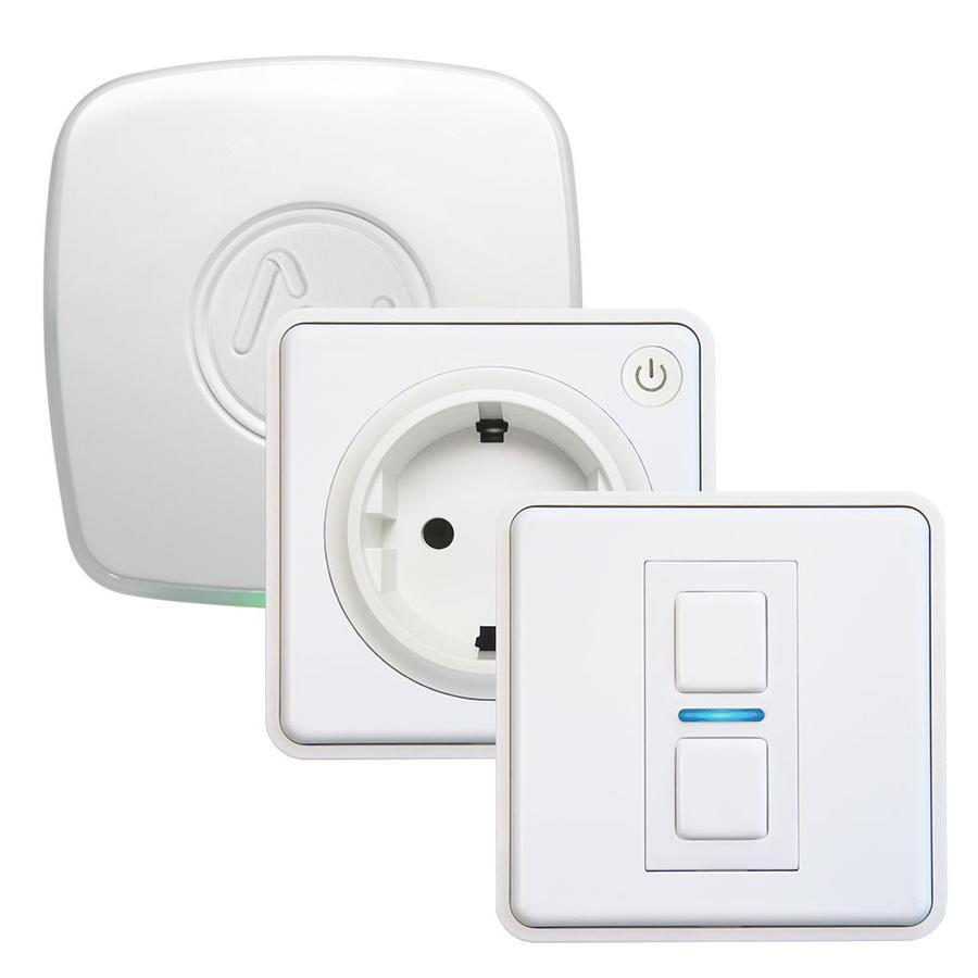 Lightwave L21412TFWH iluminación inteligente Smart socket kit Blanco