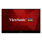 """Viewsonic ID1655 touch screen monitor 15.6"""" 1920 x 1080 pixels Multi-touch Silver"""