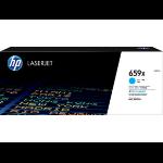 HP LaserJet 659X Origineel Cyaan 1 stuk(s)