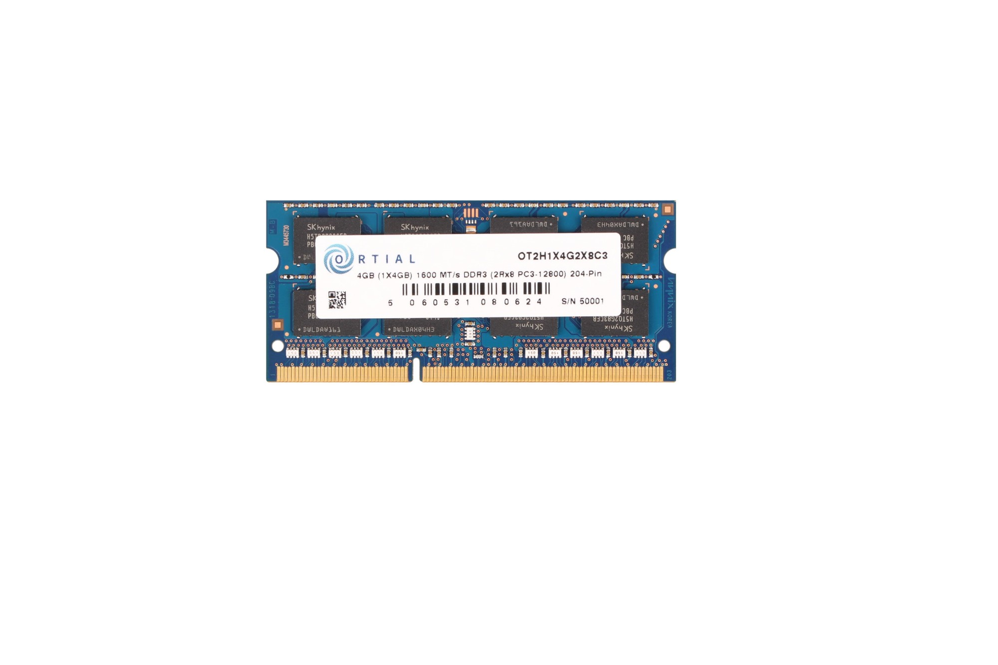 ORTIAL 4GB DDR3 1600 SODIMM