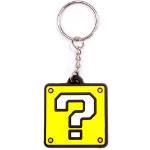 Nintendo Super Mario Bros. Question Mark Block Rubber Keychain (KE141767NTN)