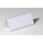 Durable 8050-19 Transparent non-metallic nameplate