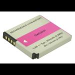 2-Power Digital Camera Battery 3.6v 800mAh rechargeable battery