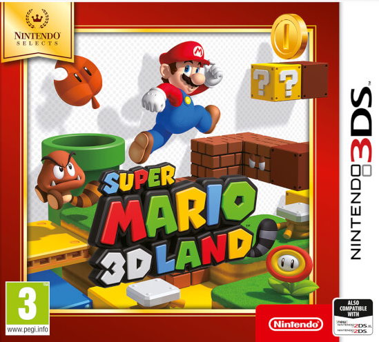 Nintendo Selects Super Mario 3D Land, 3DS video game Nintendo 3DS Basic