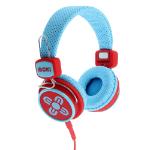Moki Kid Safe Volume Headphones Head-band Blue,Red