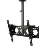 "Vision VFM-C6X4 70"" Black flat panel ceiling mount"