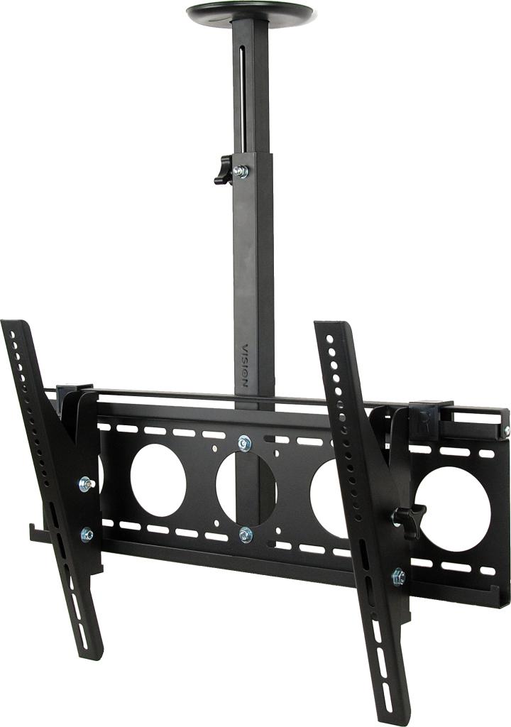 "Vision VFM-C6X4 70"" Black flat panel ceiling mount"