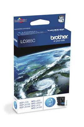 Brother LC985C Original Cian 1 pieza(s)