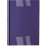 GBC LeatherGrain Thermal Binding Covers 6mm Royal Blue (100)
