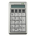 BakkerElkhuizen Ergostars Saturnus Numberpad with built in calculator with ability to transfer results directly into