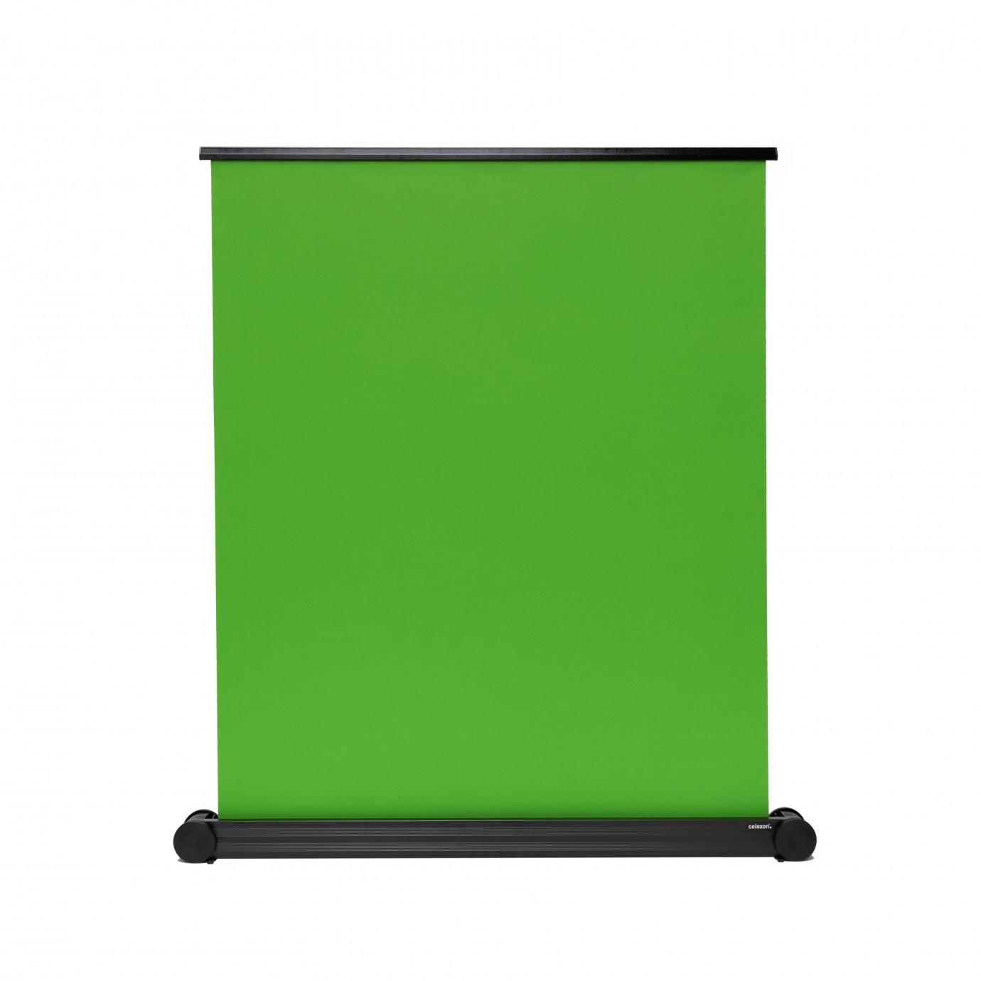 Celexon - 1000004582 - Mobile Chroma Key Green Screen - VA 150cm x 180cm - Green Screen