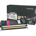 Lexmark C5242MH Toner magenta, 5K pages @ 5% coverage