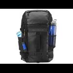 """HP L8J88AA 15.6"""" Backpack Black,Blue"""